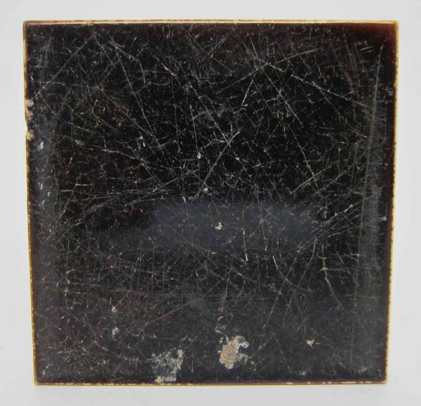 Dark Brown Square Tile Set