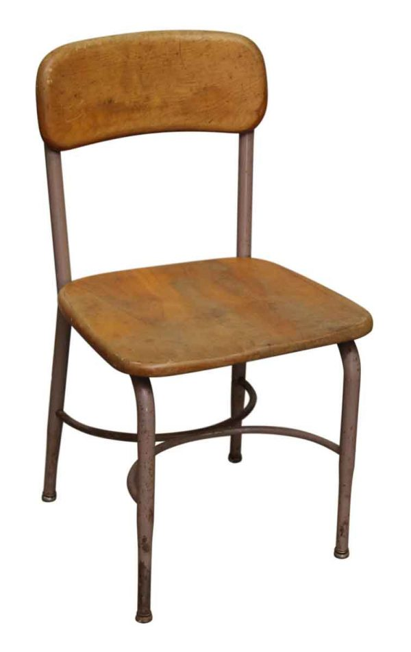 Single Heywood Wakefield Salvaged School Chair