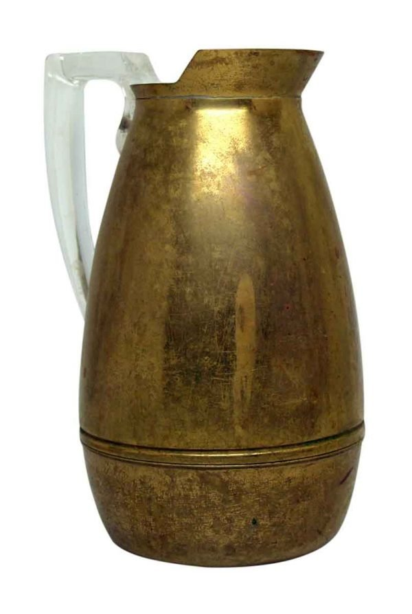 Vintage Brass Thermos