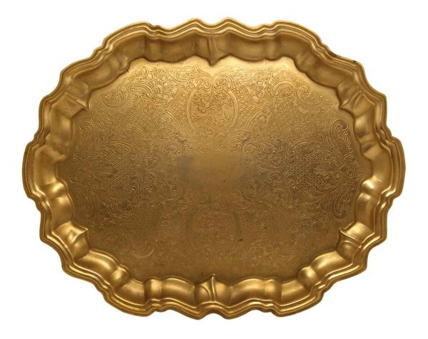 Gold Gilded Ornate Tray
