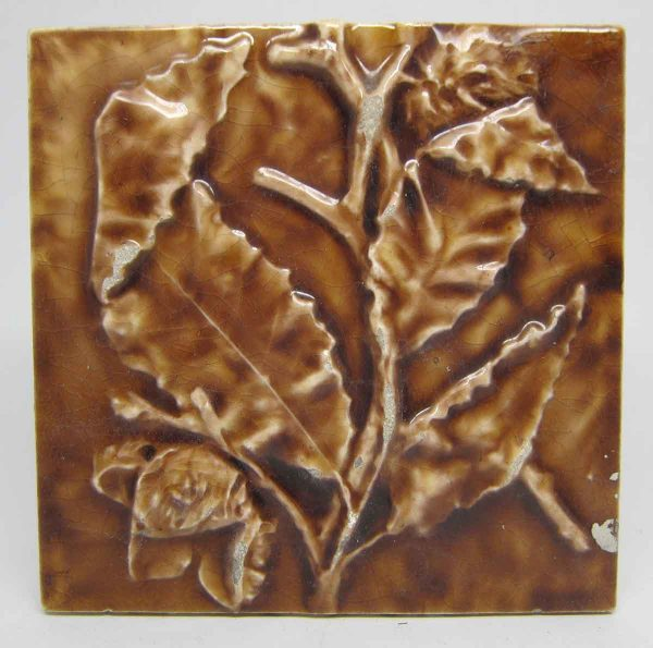 Brown Leaf Tile