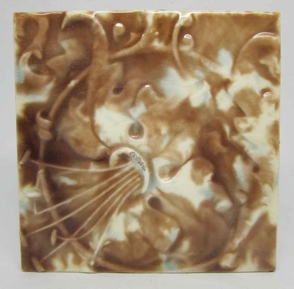 Mixed Brown & White Decorative Tile