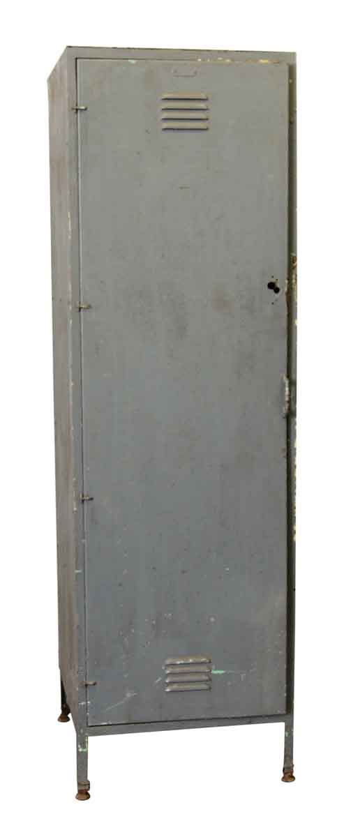 Tall Gray Metal Locker