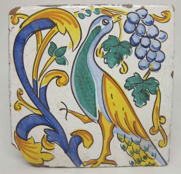 Peacock Decorative Tile