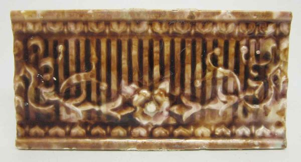Floral Brown Tile