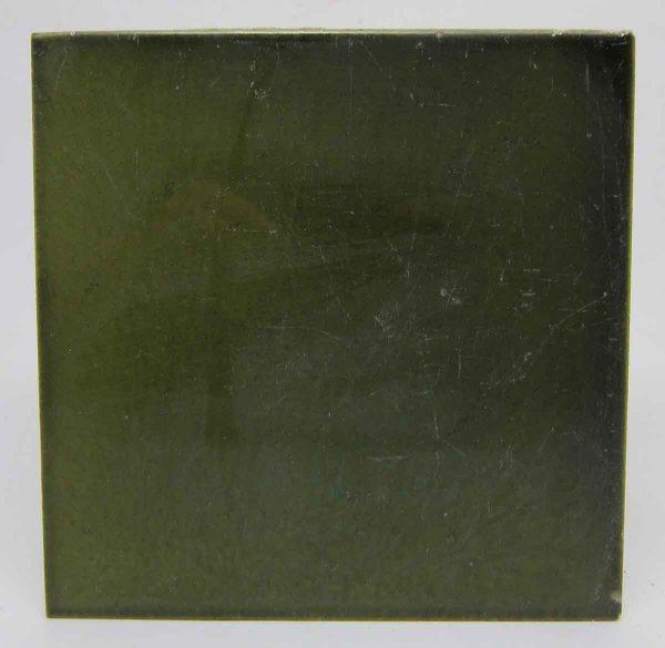 Dark Green Square Tiles