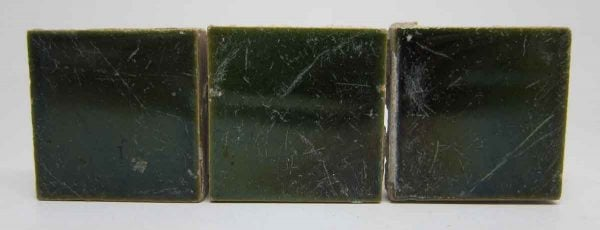 Small Dark Olive Green Tiles
