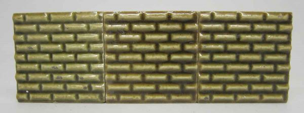 Green Small Square Tiles
