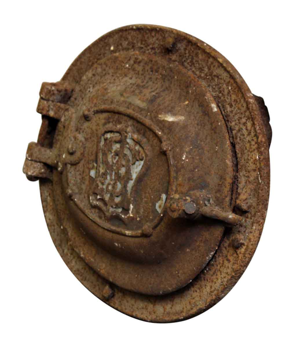 Antique Cast Iron Rusted Furnace Door  sc 1 st  Olde Good Things & Antique Cast Iron Rusted Furnace Door   Olde Good Things
