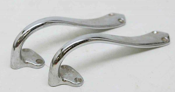 Pair of Chrome Pulls