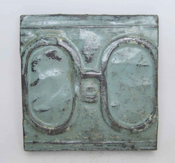Small Green 2 Fold Tin Panel