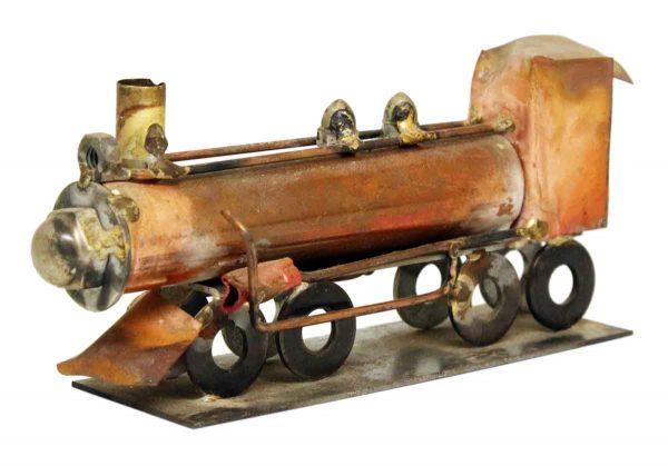 Train Metal Sculpture