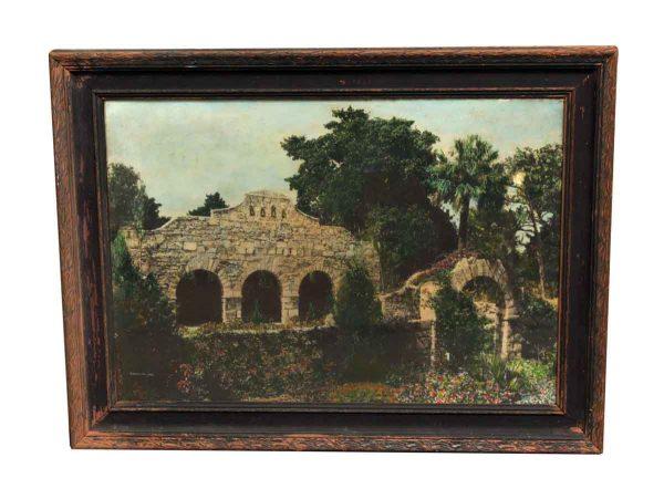 Scenic Stone Garden Print