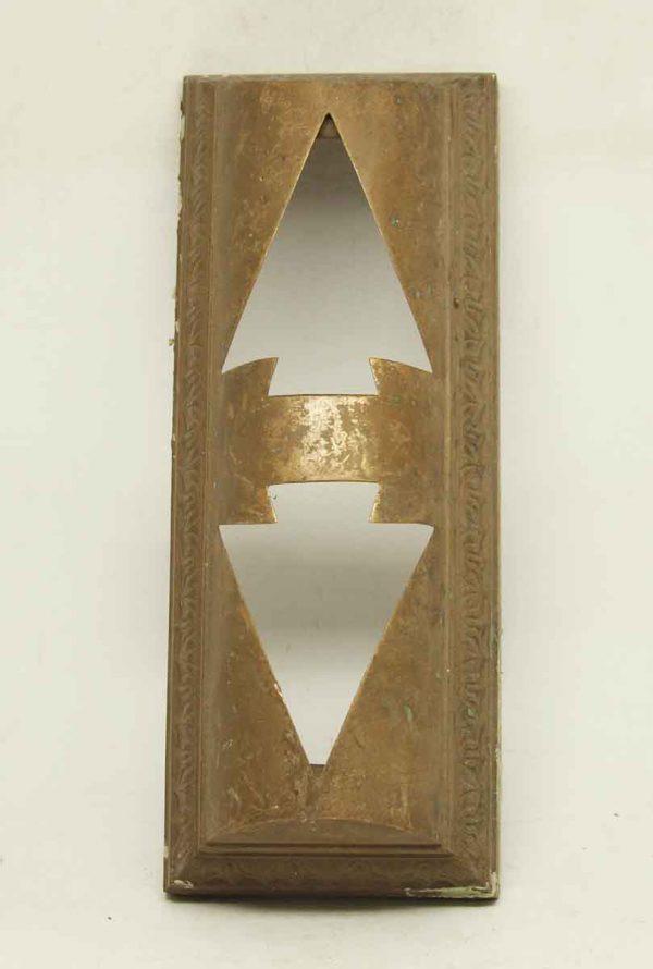 Bronze Floor Elevator Indicator