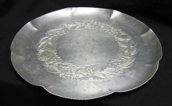 Hand Wrought Aluminum Platter