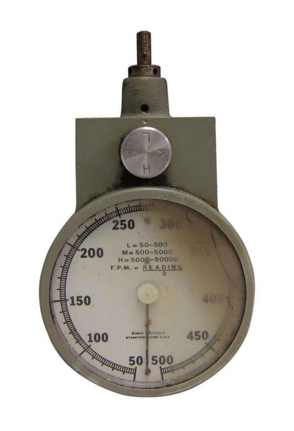 Jones Portable Tachometer