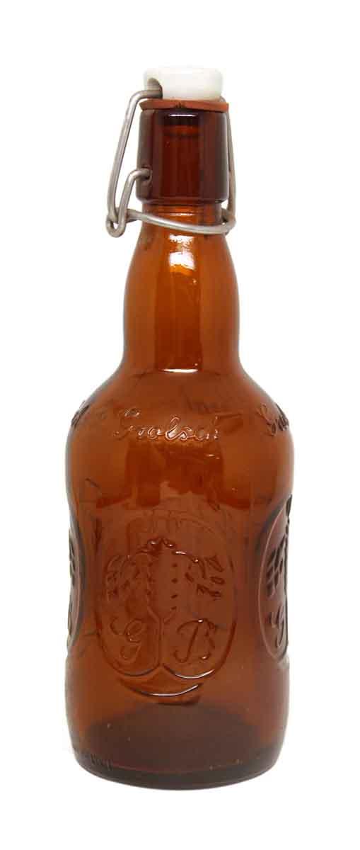 Set of Eight Vintage Beer Bottles