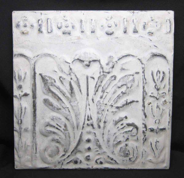 White Border Tin Panel