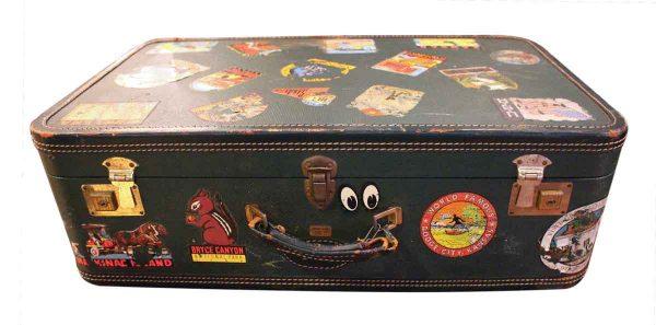 Vintage Traveler's Suitcase