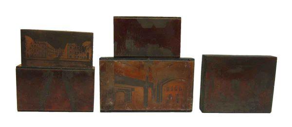Wooden Printers Blocks