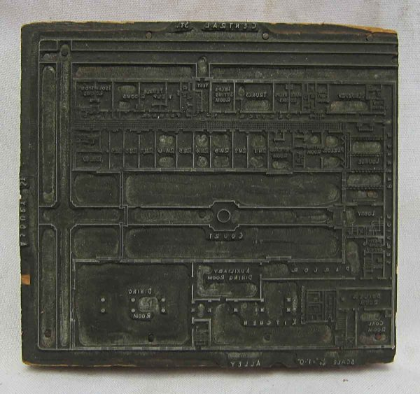 Wooden Printers Stamp