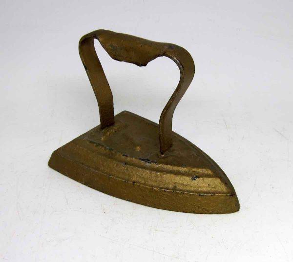 Antique Gold Flat Iron