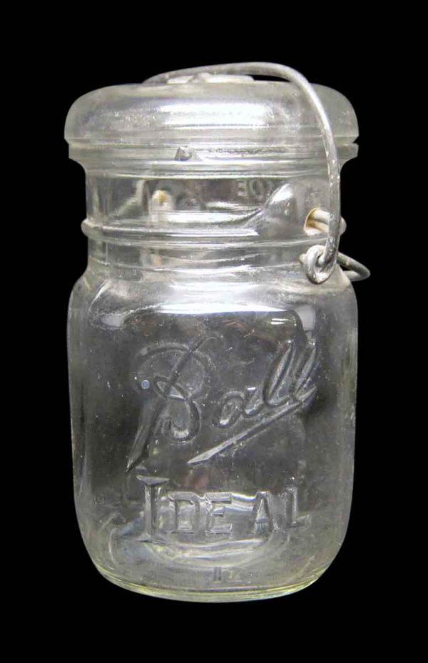 Sets of Vintage Ball Ideal Glass Jars