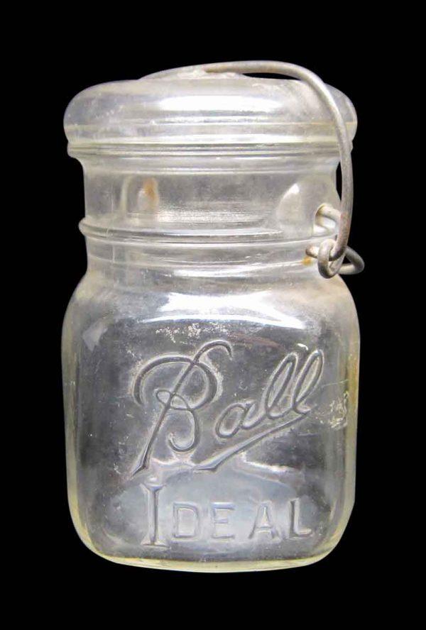 Single Ball Ideal Glass Jar