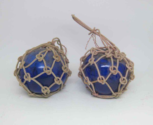 Pair of Royal Blue Buoys
