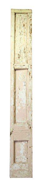 Pair of Distressed Wood Panels
