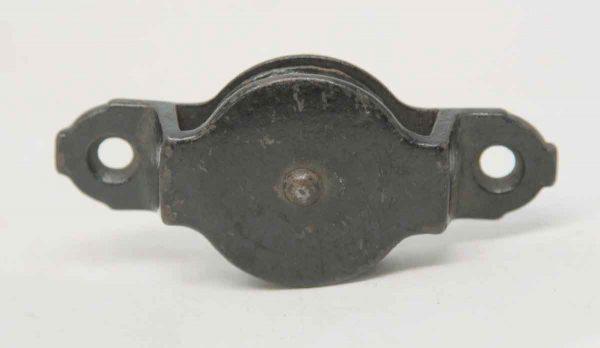 Single Black Iron Pulley