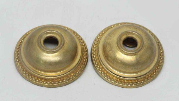 Brass Beaded Doorbell Cover