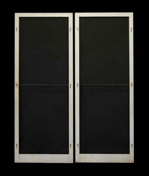 Pair of Vintage Screen Doors