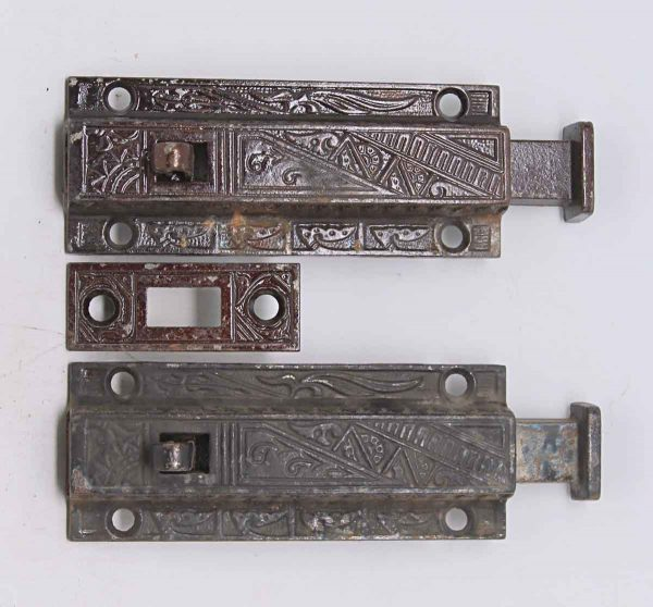 Pair of Victorian Bolt Lock