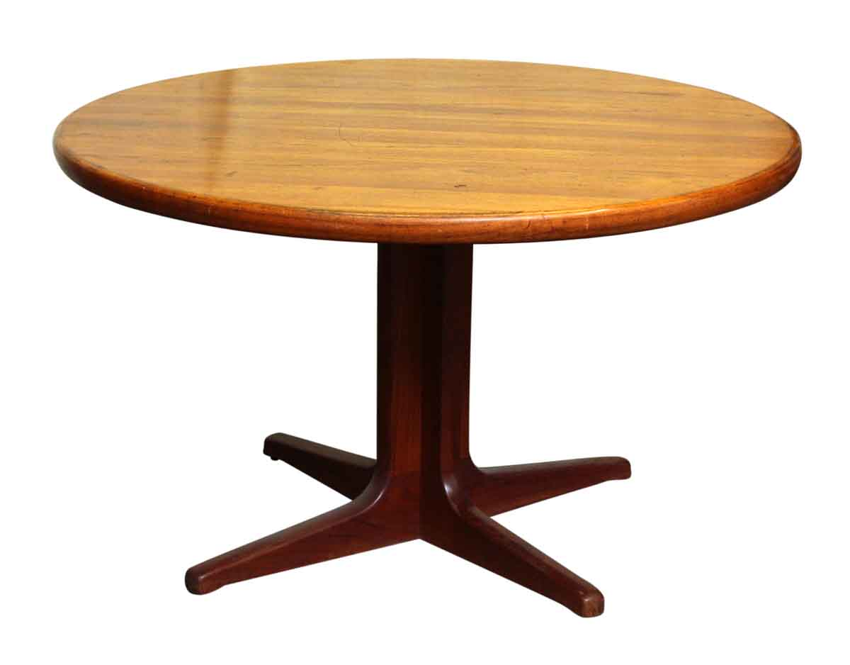 Mid Century Dining Table on Pedestal Base Olde Good Things : M234049 02 from ogtstore.com size 1200 x 938 jpeg 19kB