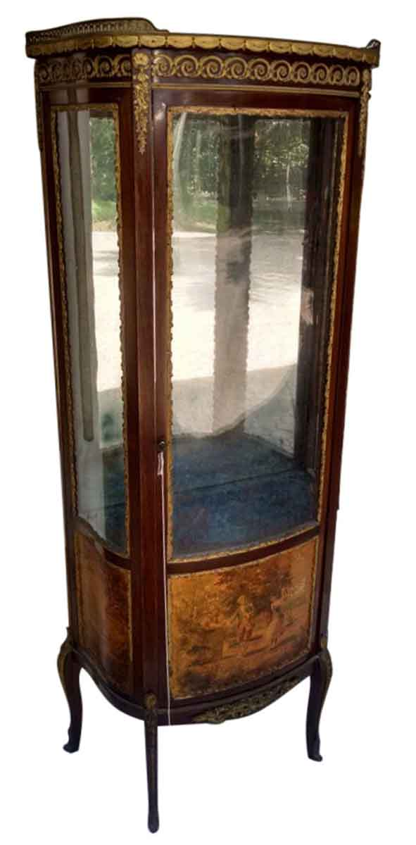French Wooded Scenic Cabinet