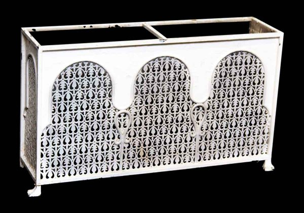 Ornate Metal Radiator 36 in. W Cover