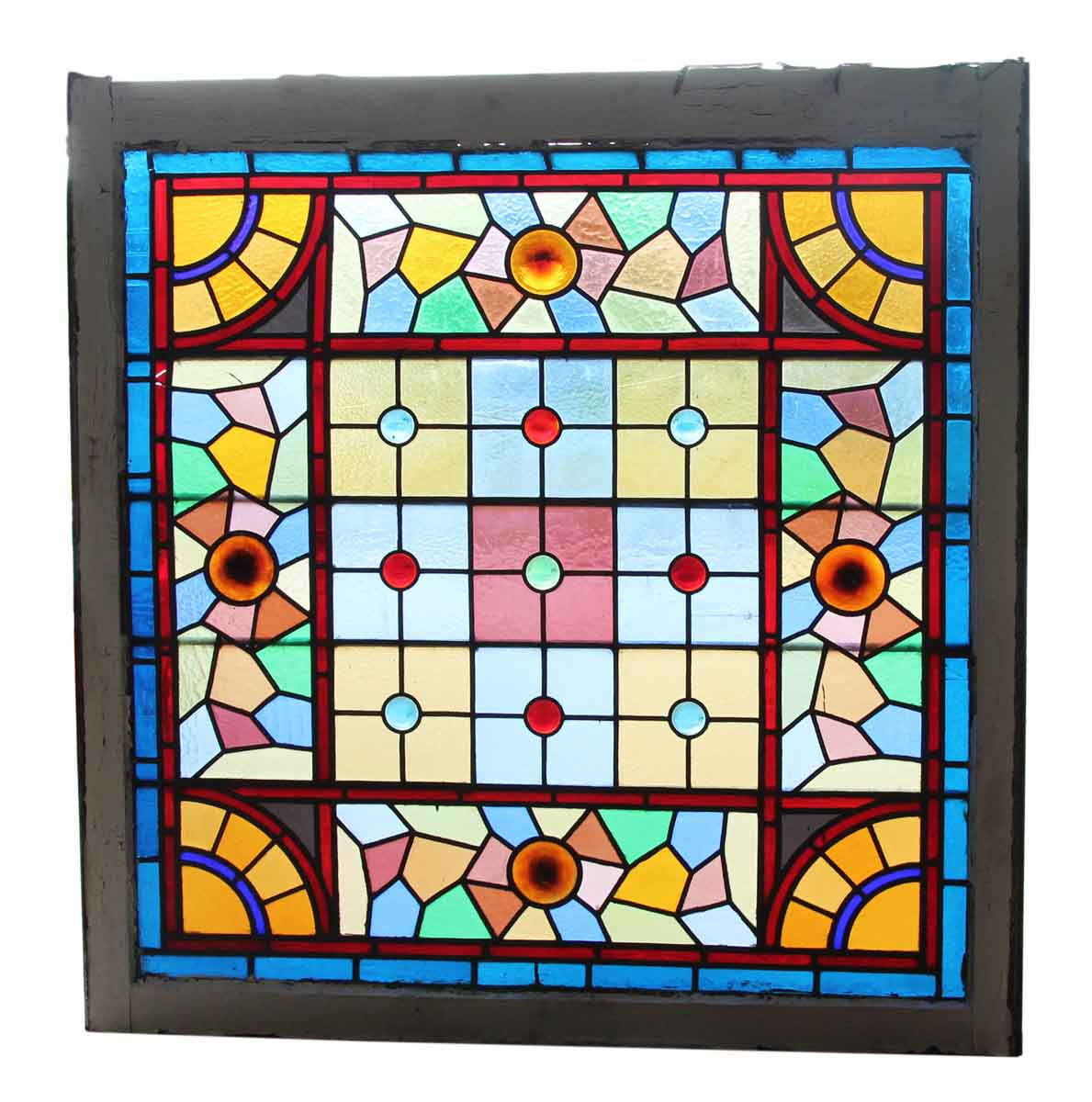 Antique Stained Glass Furniture