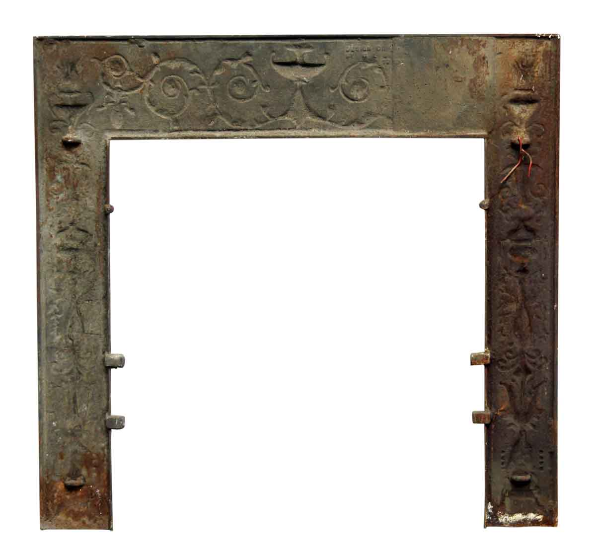 Mantel Cast Iron Fireplace Insert