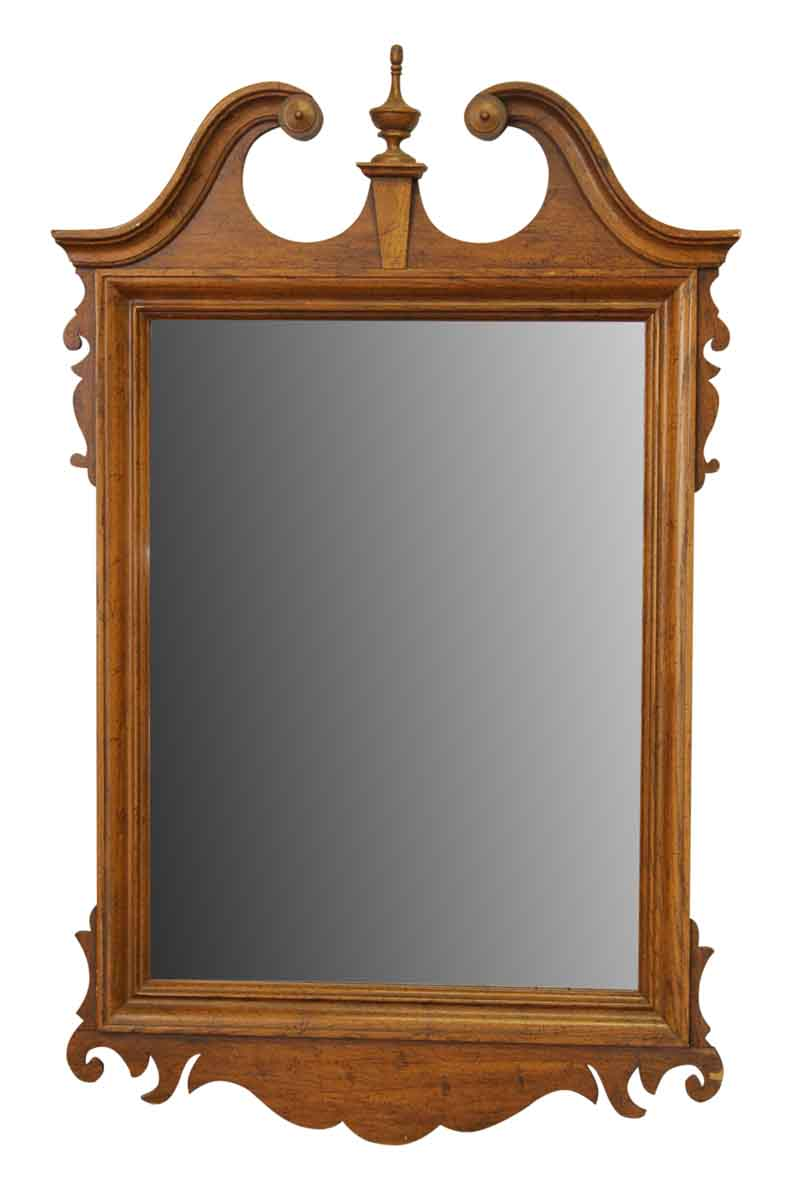 Traditional gardner wooden mirror olde good things for Traditional mirror