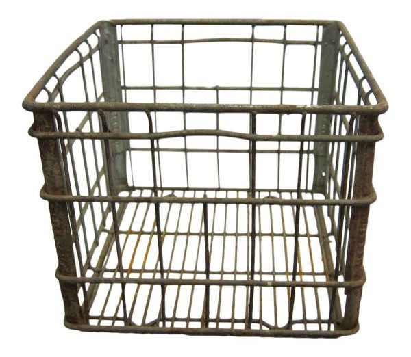 Old Antique Iron Crate