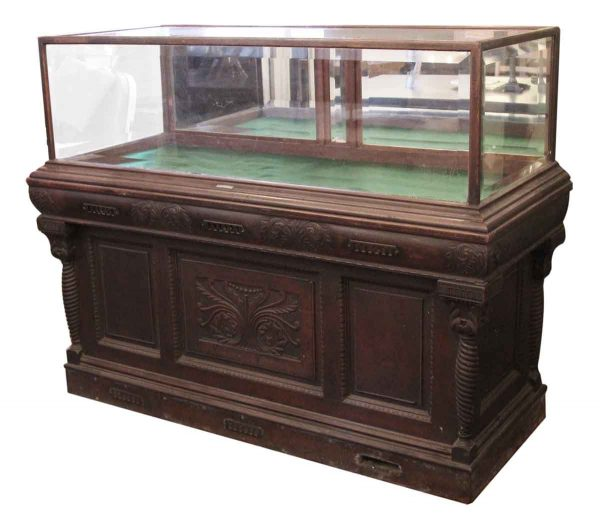 Antique Cigar Humidor & Showcase by Whitcomb Cabinet Co.