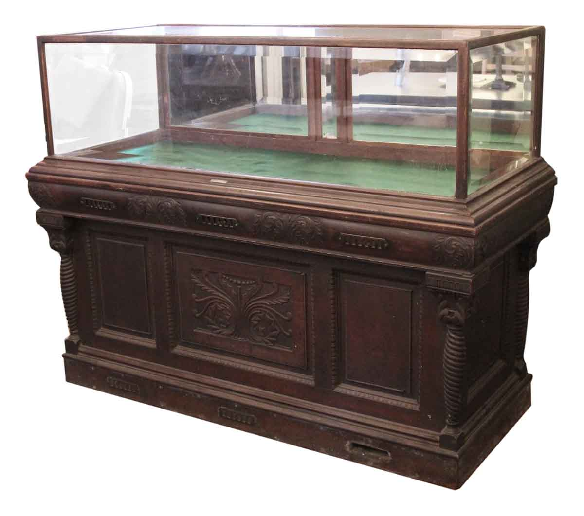 Antique Cigar Humidor & Showcase by Whitcomb Cabinet ... - Antique Cigar Humidor & Showcase By Whitcomb Cabinet Co. Olde Good