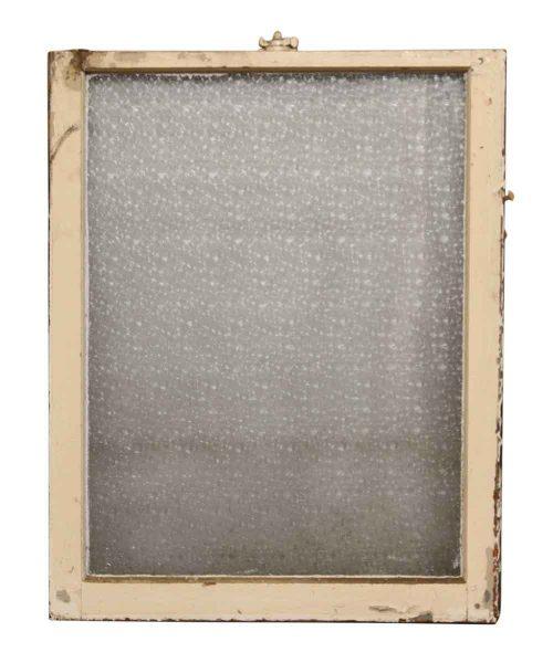 Reclaimed Snowflake Glass Window