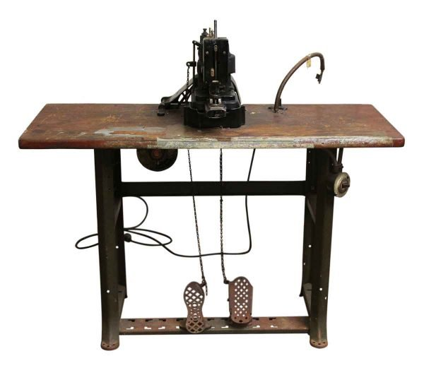Singer Commercial Sewing Machine with Table