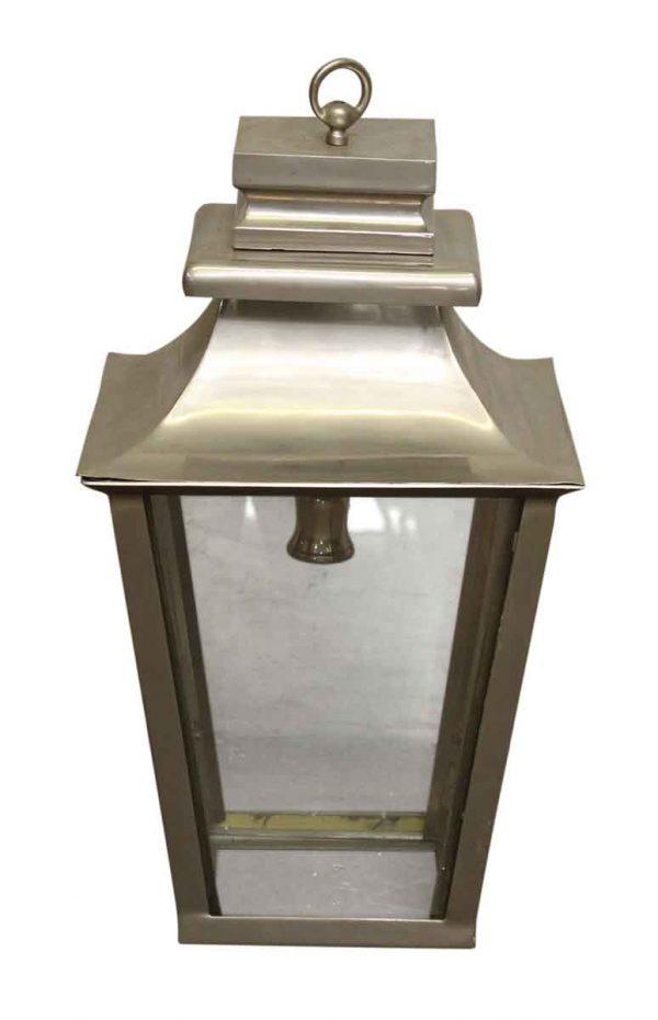 Silver Finished Brass Lantern