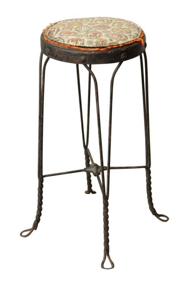 Vintage Iron Stool