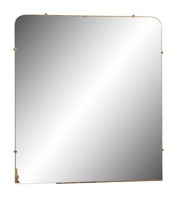 Round Square Wall Mirror