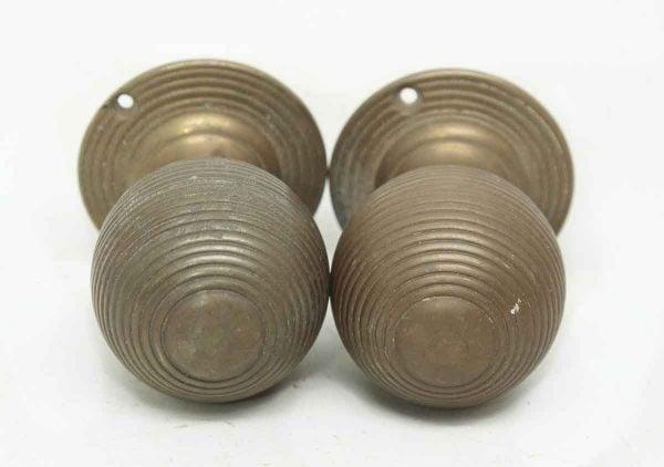 Pair of Round Circular Knobs
