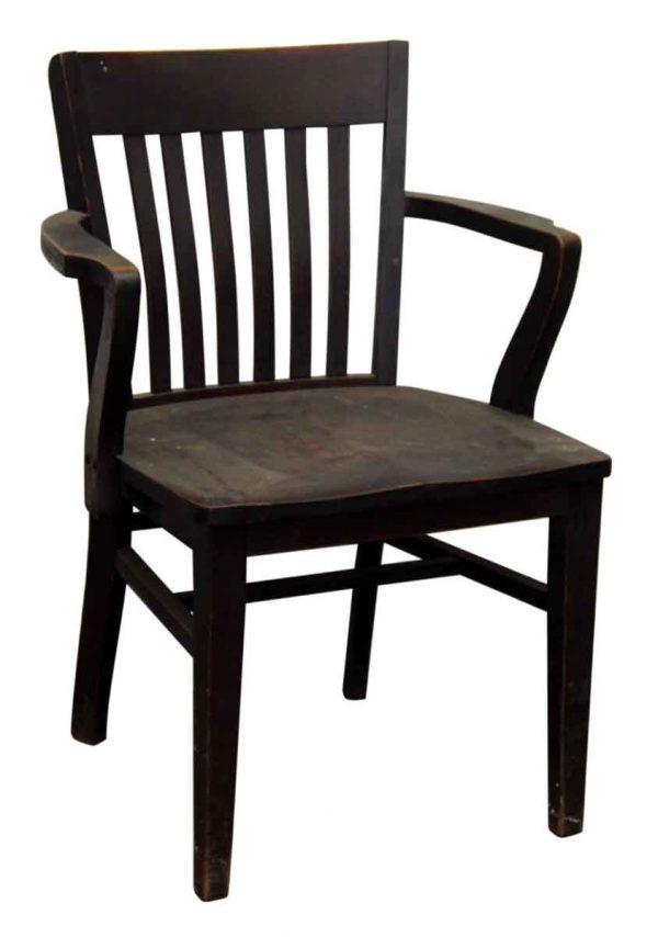 Lk. Pierce Dark Wood Tone Chair